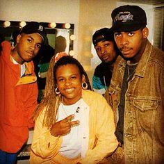 D-Nice, Yo-Yo, Chuck D & PMD..