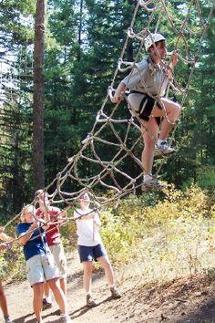 Crazy Ropes Course Sandy Spring Adventure Park Near