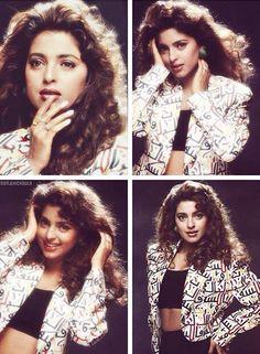 Juhi Chawla 1990s photoshoot