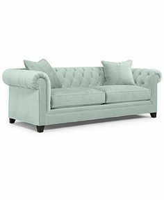 martha stewart club sofa seafoam - Google Search
