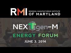 Recap of RMI's June 3 Energy Forum Featuring 12 Top Maryland Manufacturers
