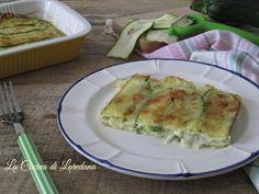 Parmigiana bianca di zucchine - Ricetta semplice e veloce