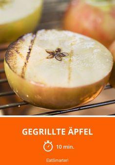 Gegrillte Äpfel - smarter - Zeit: 10 Min. | eatsmarter.de
