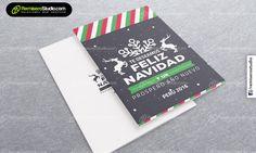 Te deseamos feliz navidad con renos – Tarjetas navideñas empresariales Perú 2016