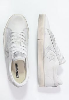 Converse Baskets basses - white/mouse - ZALANDO.FR