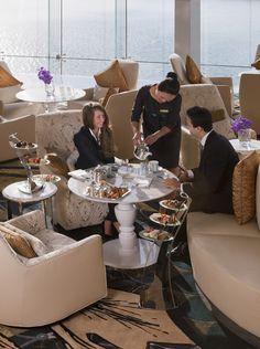 Jumeirah at Etihad Towers Hotel - Abu Dhabi Restaurants - Afternoon Tea