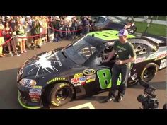 VIDEO (June 15, 2012): Dale Earnhardt Jr., driver of the No. 88 Diet Mountain Dew/The Dark Knight Rises/National Guard Chevrolet, talks about working with fans to choose the Batman-themed paint scheme he is running at Michigan International Speedway on June 17.