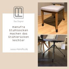 Das Original: manufra Stuhlsocken! Schluss mit Kratzern und Schleifspuren auf Laminat und Parkett. Ziehen Sie Ihren Stühlen und Tisch einfach Socken an. Super Nebeneffekt: die Stühle gleiten fast lautlos über den Boden. Die praktischen Stuhlsocken werden bei uns aus Wollfilz nach Maß angefertigt. Sie erhalten mit den Stuhlbeinsocken ein langlebiges, hochwertiges Produkt aus 100 % natürlichen Stoffen. . . . #manufra #nachhaltigkeit #noplastic #chairsocks #wohnen #handmade #feltdesign…