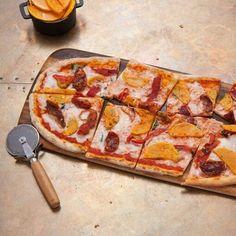 來自Zizzi的素食比薩餅。