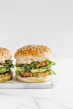 ... veggie quinoa burger ... #recipe #burger #vegetarian