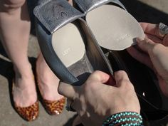 Wear your favorite shoes without socks with Silver Lining // Antimicrobial Shoe Liners