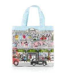 Harrods Signature Accessories – Window Dressing Tote Bag (Small)