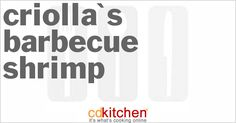 A 5-star recipe for Criolla's Barbecue Shrimp made with jumbo shrimp, butter, Worcestershire sauce, black pepper, lemon, parsley, shellfish stock