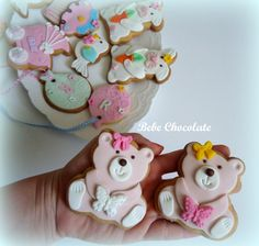 rabbit cookiei bear cookie, ayıcık kurabiye, butik kurabiye