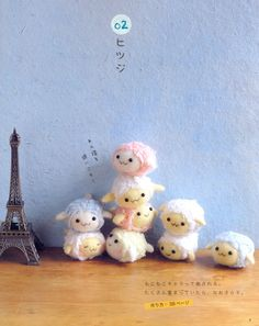 《1 Hour Felt Wool Doll Step by Step》- Japanese craft book