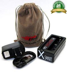 Efest XSmart Single Battery Charger 3.7v 10440 16340 18350 18500 18650 + A/C USB #Efest Great descount