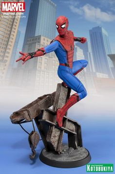 Spider-Man: Homecoming Spider-Man ARTFX Statue From Kotobukiya
