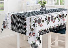 Toalha de Mesa Oxford 2m 01 Peça - Estampado Cozinha Casa Borda Nay Multicoisas | Enxoval | Móveis
