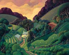 Limited Edition Prints Artist Jo March-St Luke's Hill