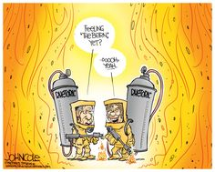 Editorial cartoon by John Cole found on theweek.com on Monday, April 11, 2016