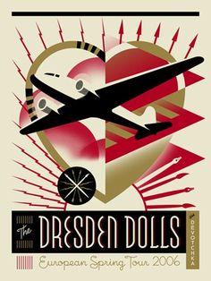 The Dresden Dolls / Devotchka (European Spring Tour 2006). Poster ...