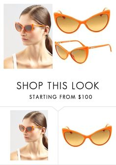 deabf31a7da NEW Genuine Tom Ford TF303-42F Women s Shiny Orange Cateye ANASTASIA  Sunglasses