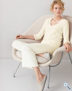 ace2d9bcd8 Comfort and elegance... and oh so soft! Madelon Capozziello · Favorite  pajamas · eileen fisher ...