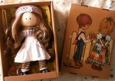 Handmade doll by egg