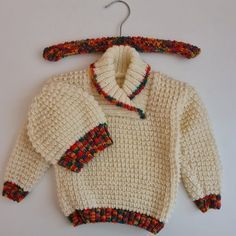 Lock-down - the best thing that ever happened to UFOs. Baby Jumper, To My Daughter, Men Sweater, Things To Come, Shit Happens, Stitch, Knitting, Pattern, Crafts