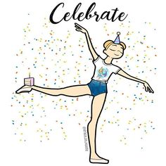It's my birthday!  Have a slice of cake and 50% off all Grace on Pointe Gear with the code Grace17. Sale lasts for 24 hours so... Celebrate ! Chubbywhale.com #ballet