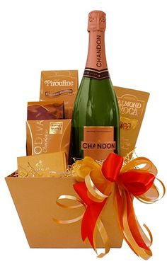 Wine snack christmas gift package