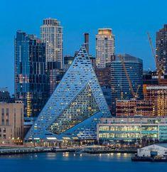 Famous Architecture, Futuristic Architecture, Contemporary Architecture, Interior Architecture, Unique Buildings, Metal Buildings, Tower Building, Building Design, Big Architects