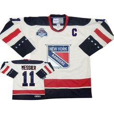 ... 19 Brad RICHARDS Replica Jersey Size LG Blue New York Rangers Mark  Messier 11 White Authentic Jersey Sale ... faff168c2
