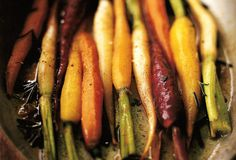 Pan-Braised Carrots with Orange and Rosemary Recipes Carrot Dishes, Carrot Recipes, Orange Recipes, Real Food Recipes, Cooking Recipes, Fast Recipes, Fruit And Veg, Fruits And Veggies, Root Vegetables