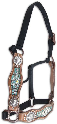 Inlaid Scalloped Halters. This is gorgeous but I don't know if I wanna see the price tag.