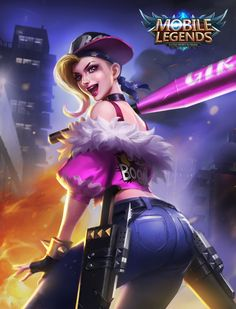 #MobileLegends Season 3 Exclusive Skin: Punk Princess - Fanny - News - MobileLegends - Powered by Discuz!