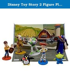 Disney Toy Story 2 Figure Play Set -- 7-Pc. These Toy Stroy figures are great to play with, collect or even trade. These are for children 4 and older. Do not miss out on this fun Disney set!.