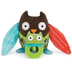 Shop Treetop Friends Hug & Hide Owl Stroller Toy by Skip Hop at Oompa Toys, the most trusted online source for top quality specialty toys.