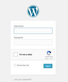 Login No Captcha reCAPTCHA | WordPress.org Wordpress Org, Wordpress Plugins, Forgot Password
