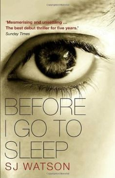 Memories define us. So what if you lost yours every time you went to sleep? Your name, your identity, your past, even the people you love - all forgotten overnight. And the one person you trust may only be telling you half the story. Welcome to Christine's life. #StHelens #lovelibraries #lovereading #SJWatson #fiction