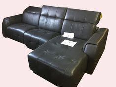 Leather Furniture Deals ~ Furniture Now ~ http://Furniturenow.mobi: Novara Slate Gray Leather Reclining Sofa, 3 Piece ...