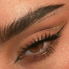 Cute Makeup Looks, Makeup Eye Looks, Eye Makeup Art, Natural Makeup Looks, Pretty Makeup, Skin Makeup, Beauty Makeup, Natural Eyes, Maquillage On Fleek