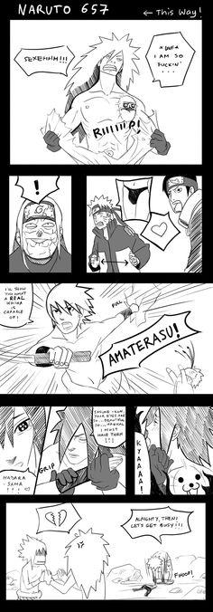 lol hahaha xD Naruto 657 Spoof by Satosanteru.deviantart.com on @deviantART