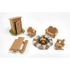 Mary Maxim - Outdoor Furniture Plastic Canvas Kit - Plastic Canvas Kits - Plastic Canvas - Crafts, $18.99