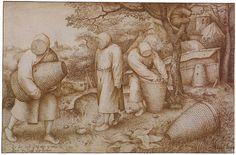 Workshop of Pieter Brueghel the Elder, The Beekeepers