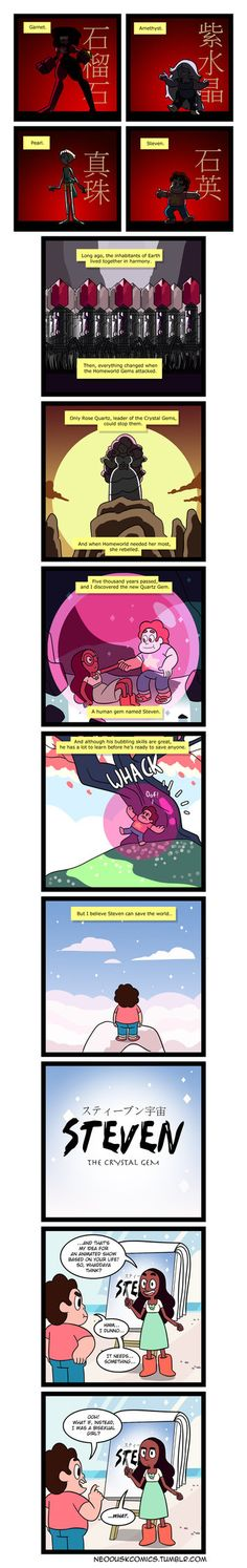 Steven Universe: The Last Gembender by Neodusk on DeviantArt