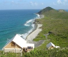 eco tents in st. john