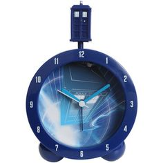 Doctor Who TARDIS Topper Alarm Clock   Hot Topic