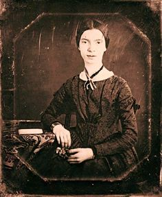 The only known photograph of New England poet Emily Dickinson (December 10, 1830 – May 15, 1886).
