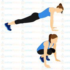 Tabata trénink, který ti pomůže zničit přebytečný tuk na celém těle! | Blog | Online Fitness